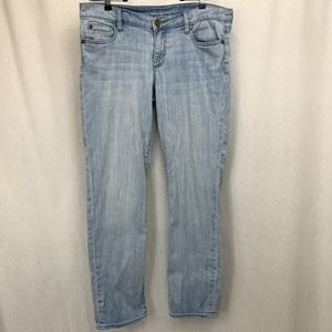 Kut from the Kloth Straight Leg Light Blue Jeans